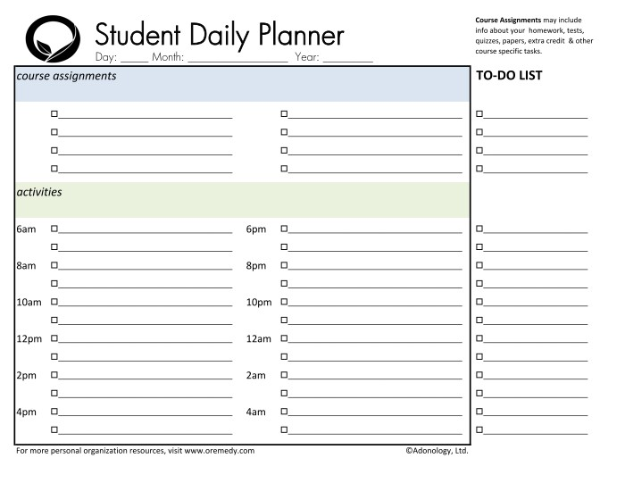 daily planner for college students cute daily planners for college students oyle kalakaari co daily planner for college students